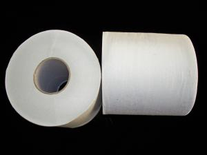 China Environmental 500 Sheets Natural soft recycled toilet paper rolls with core on sale