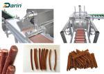 Dog Pet Chews Auto Meat Strips Dog Treats Pet Food Production Line / Pet Chews Extruder