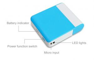 China Small portable emergency power bank / emergency battery backup FOR travel on sale