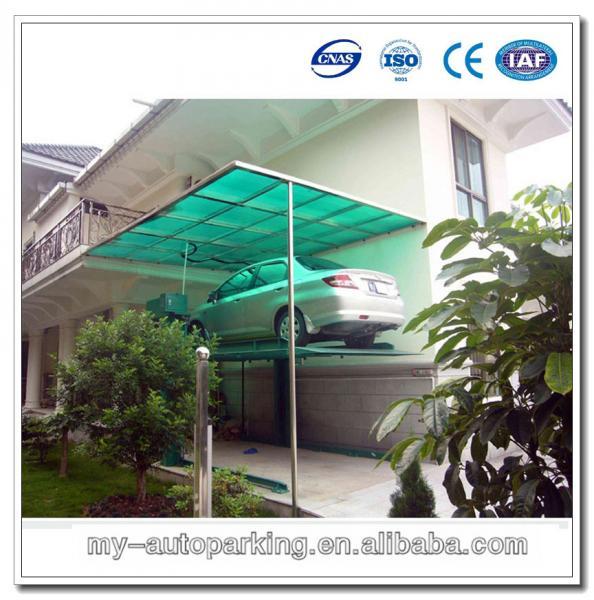 Home Garage Car Lift Parking Lot Equipment Uderground Parking Garage