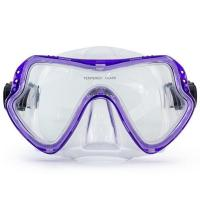 One Piece Lens Scuba Diving Mask / Adult Diving Mask with Silicone Strap