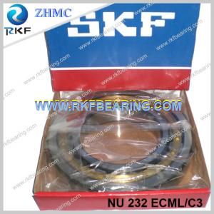 China Germany Made SKF NU232ECML/C3 160x290x48mm Cylindrical Roller Bearing With Brass Cage on sale