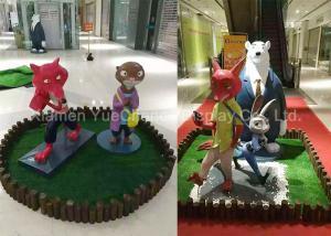 China Fiberglass Movie Cartoon Character Statues Beautiful Outdoor Promotion on sale