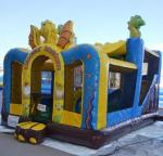 China Inflatable Bouncer / Bouncer house / Inflatable Dragon 0.5MM PVC tarpaulin bouncer wholesale