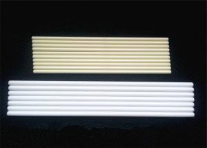 China Customized High Pure Polished Corundum Alumina Ceramic Rod / Ceramic Round Bar on sale