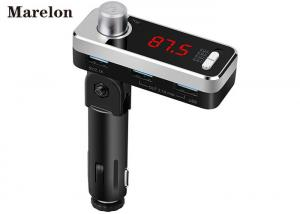 China LED Display Screen Bluetooth Car Charger Adapter Micro SD Card Slot BT Mode Switch on sale