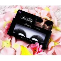 China Full Handmade Purple Halloween False Eyelashes For Festival , Synthetic False Eyelashes on sale
