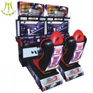China Hansel Arcade amusement machine video game console simulator driving car racing game machine on sale