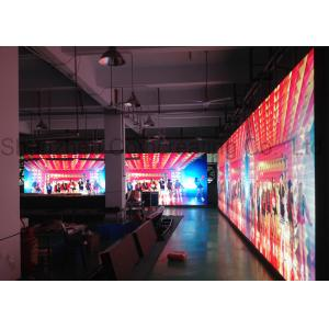 China P6 Stage Background SMD LED Display Indoor RGB for Rental Brushed Aluminum on sale