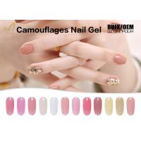 15ml Camouflage Nail Gel No Heat Builder Gel With 24 Colors Sample Provided
