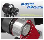 Changzhou high quality R&B brand BS...R series backstop one way  cam clutch apply in conveyor
