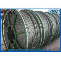 658kN T29 Structure Anti Twist Wire Rope Galvanized Steel Rope 30mm Breakage