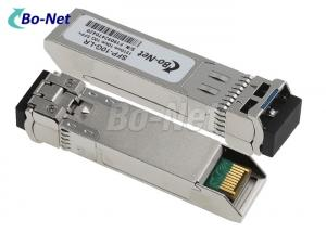 China 3.3v 10G Used Cisco Modules SFP-10G-LR Single Mode 1310nm 10km Compatible on sale