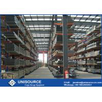 China Industrial Warehouse Storage Solutions , Heavy Duty Cantilever Racking OEM on sale