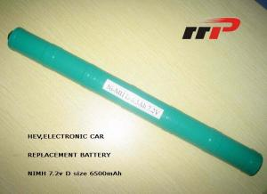 China High Capacity Green NIMH Rechargeable Batteries on sale