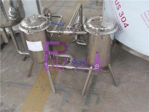 China Stainless Steel 200 Mesh Bottle Juice Double Filter For Beverage Making Machine on sale
