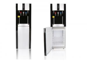 China Floor Standing Drinking Water Dispenser , 3 Tap Water Dispenser With Refrigerator on sale