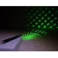 5mW-200mW 5 Caps Green Laser Pointer+Starriness