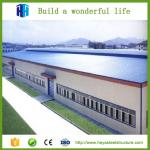 Prefabricated steel factory and prefabricated steel structure buildings for auto 4s shop showroom