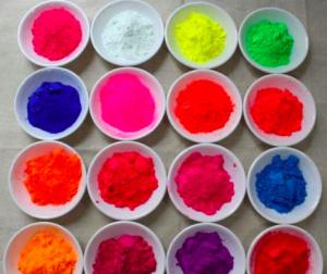 China multi-color fluorescent pigment for textile printing and dyeing on sale