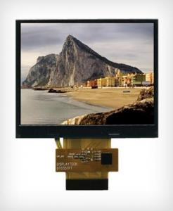 China High Resolution 3.5 Inch PVI 480(H)*234(V) Color TFT LCD Modules Display With Analog Panel on sale