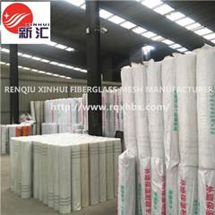 China xinhui alkali resistant waterproof plaster drywall glass fibre fiberglass mesh for concrete cracking on sale