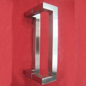 China Stainless Steel Square tube Door Pull Handle ( BA-PH011 ) on sale