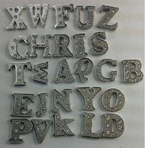 China Stainless Steel Alphabetical Letters Charms Collection for Glass Floating Charm Locket on sale