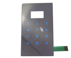 China Metal Dome Custom Capacitive Touch Panel Keypad Switch For Smart Password Locker on sale