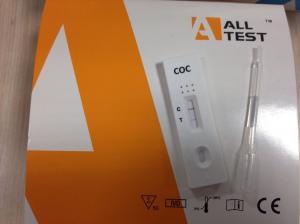 China 4mm 300ng Quick Drug Abuse Test Kit COC Urine Drug Test Strip / Cassette / Panel on sale