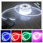 Shenzhen led lighting10*18mm full color changing RGB led neon tube 220v UV resistance