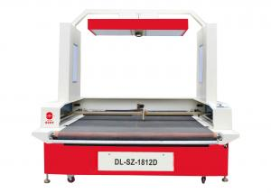 China 300 Watt Shoe Engraving Machine CCD Camera Positioning CNC With Laser Projector on sale
