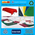 China Waterproof disposable TNT table cover wholesale