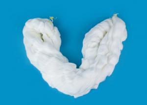 China New Product Staple Fiber Bright / Semi Dull 100 Percent Spun Polyester Yarn 42s/2 45s/2 on sale