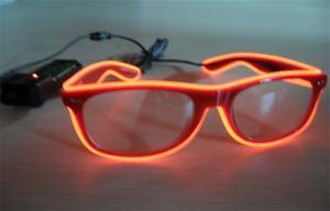 China Gafas de sol del alambre del EL de la luz de neón supplier