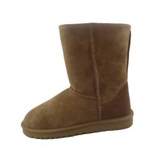China Comfortable 100% Australia Sheepskin Winter Boots Good Air Permeability on sale