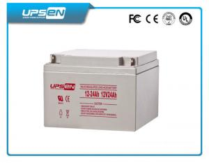 China 2V / 12V DC Solar AGM Deep Cycle Sealed Lead Acid Battery With 8 - 12 Years Lifetime on sale