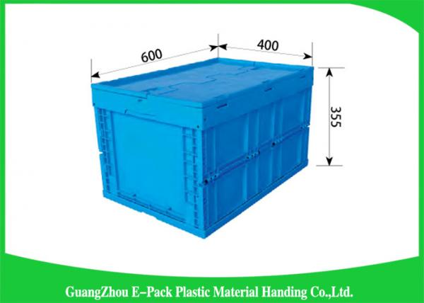 Antistatic Collapsible Plastic Containers Food Grade For Vegetable Fruit  Industry Images