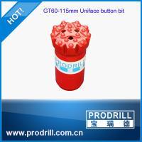 GT60-115mm Uniface 9 Gauge Retrac Skirt Button Bit