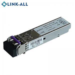 China 1.25G 1310nm single mode 20km fiber optical SFP transceiver module on sale
