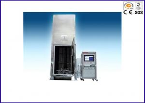 China Stainless Steel Wire Testing Equipment For Burning Bunched Cables EN50399 on sale