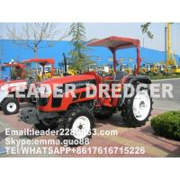 Garden tractor with general tread for sale Good farm equipment with red colour
