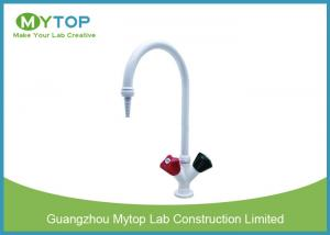 China Brass Material Hot And Cold Water Tap For Lab Water Supply Chemical Resistant on sale
