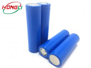 China Rapidly Charged 3.7 Lithium Ion Battery , 18650 3.7 Rechargeable Battery No Memory Effect  on sale