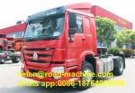 6 Wheel WD615.62 engine 4x2 Prime Mover Truck 290hp howo tractor head