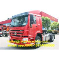 Sinotruck  SWZ 4 X 2 Tractor   Semi Trailer Truck Red White Color Can Be Choosed