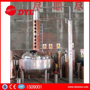 China Gin Alcohol Distiller Machine For Low / High Alcohol Concentration on sale
