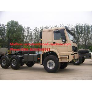 China 10 Tires Sinotruk Howo 6X4 371 Hp Tractor Head Trucks Tow Hook ZZ4257S3241W For Pulling Low Bed Semi Trailer on sale