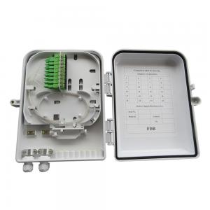 China 16 Core White NBDD-FQX16A FTTH Termination Box ABS New Material Injection Molding on sale