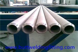 China ERW hot rolled / cold rolled Super Duplex Stainless Steel Seamless Pipe UNS32760 on sale